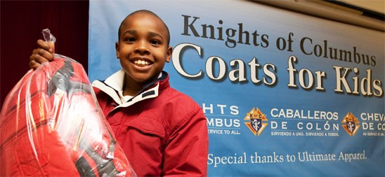 Coats for Kids | Knights of Columbus - California State Council  #kofccalifornia