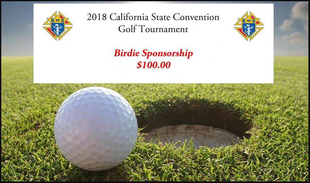 Golf Tournament Birdie Sponsorship