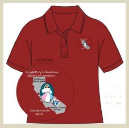 2018 State Convention Souvenir Shirt