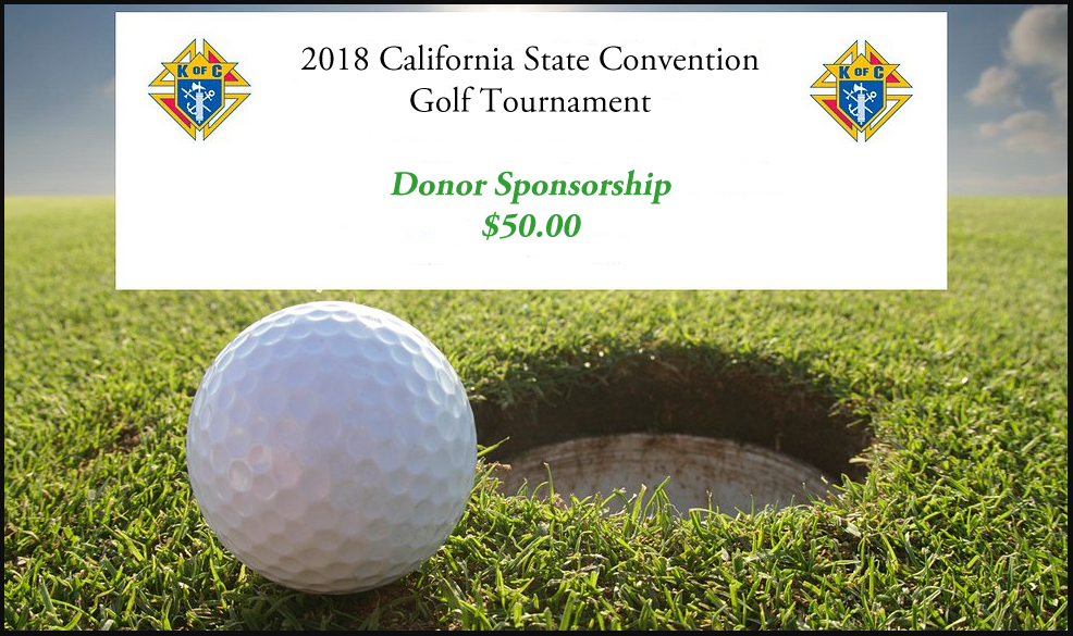 Golf Tournament Donor Sponsorship