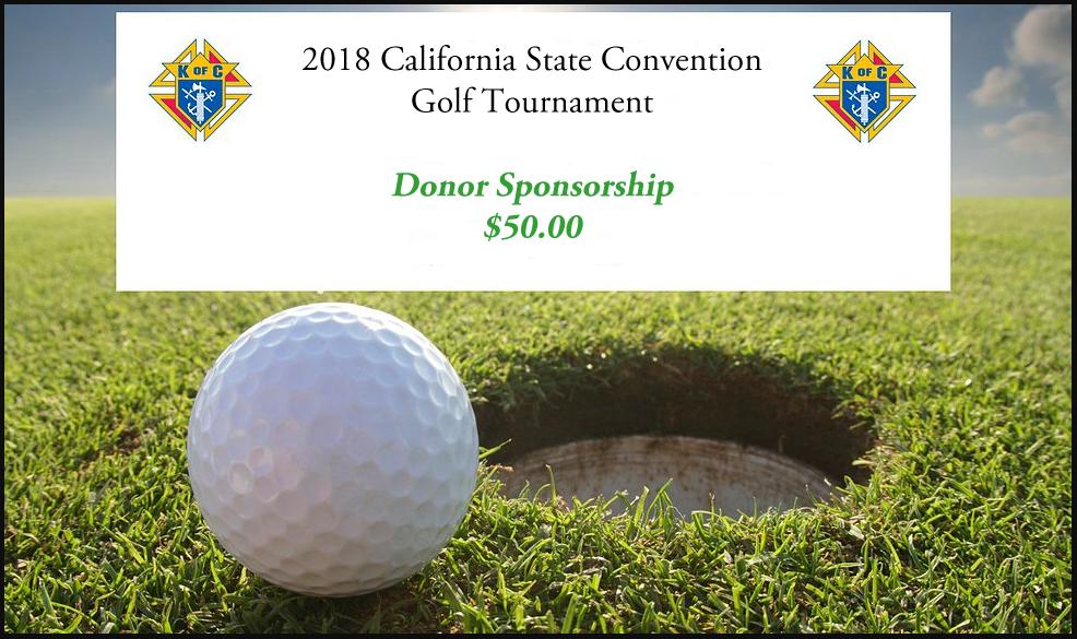 Golf Tournament Donor Sponsorship
