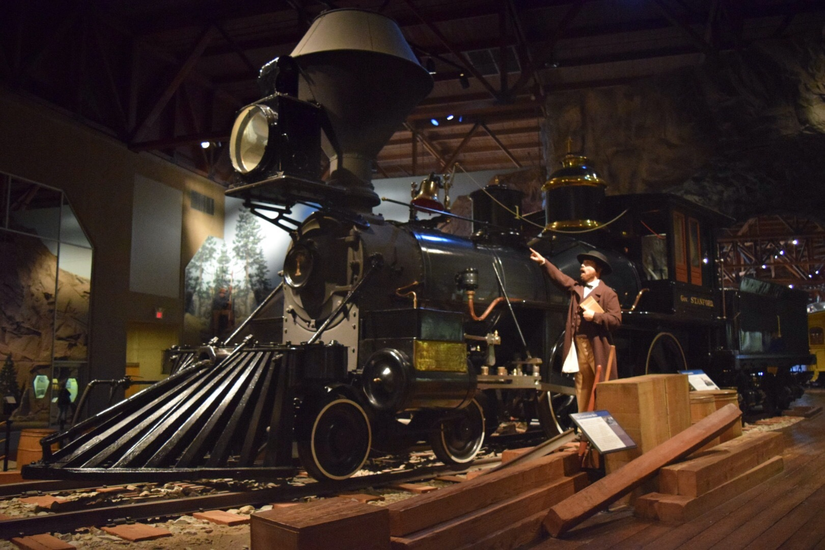 Railroad Museum / Old Town Sacramento Tour
