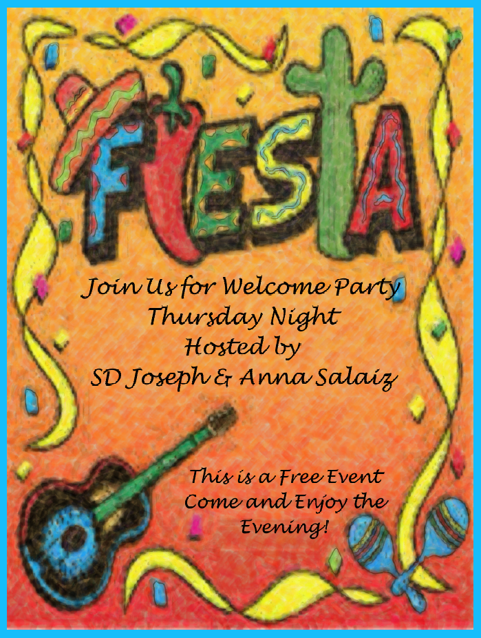 Thursday Night - Welcome Party - Fiesta