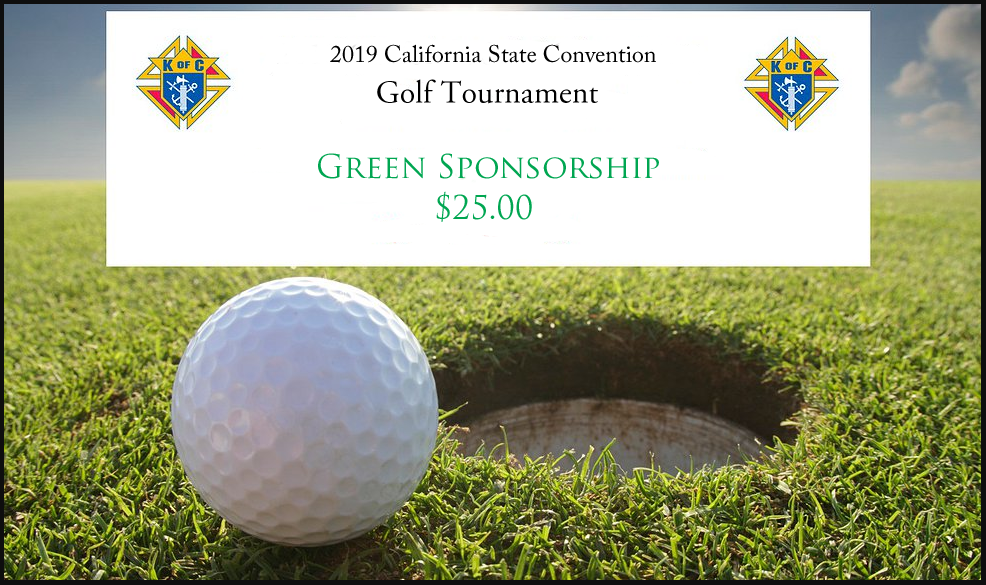 Golf Tournament 'Green Sponsorship'