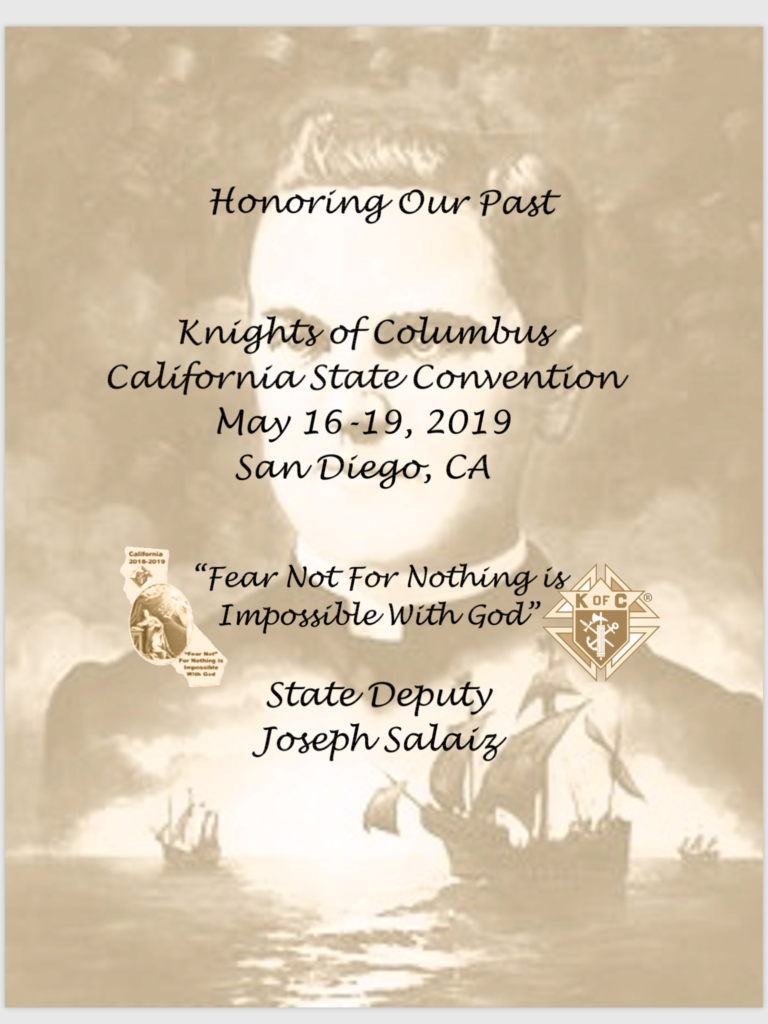 Save the DATES - State Convention 2019