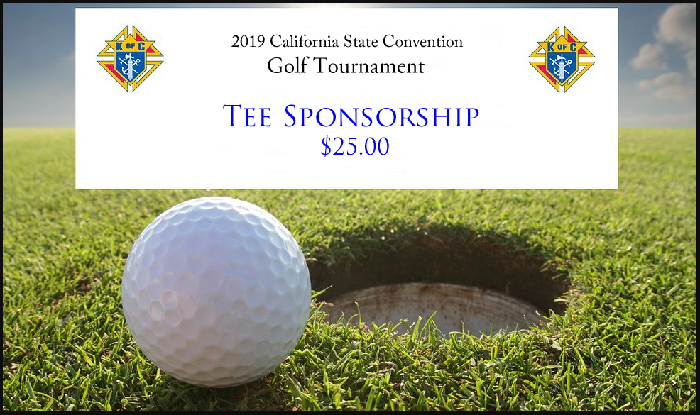 Golf Tournament 'Tee Sponsorship'