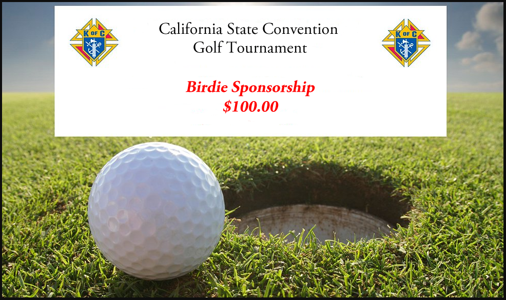 Golf Tournament 'Birdie Sponsorship'