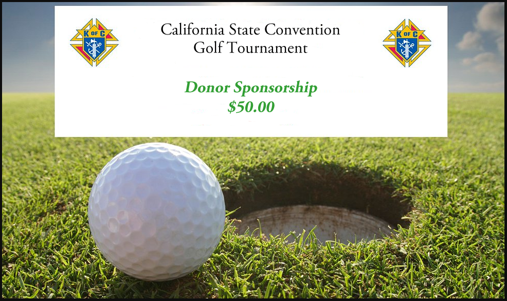 Golf Tournament 'Donor Sponsorship'