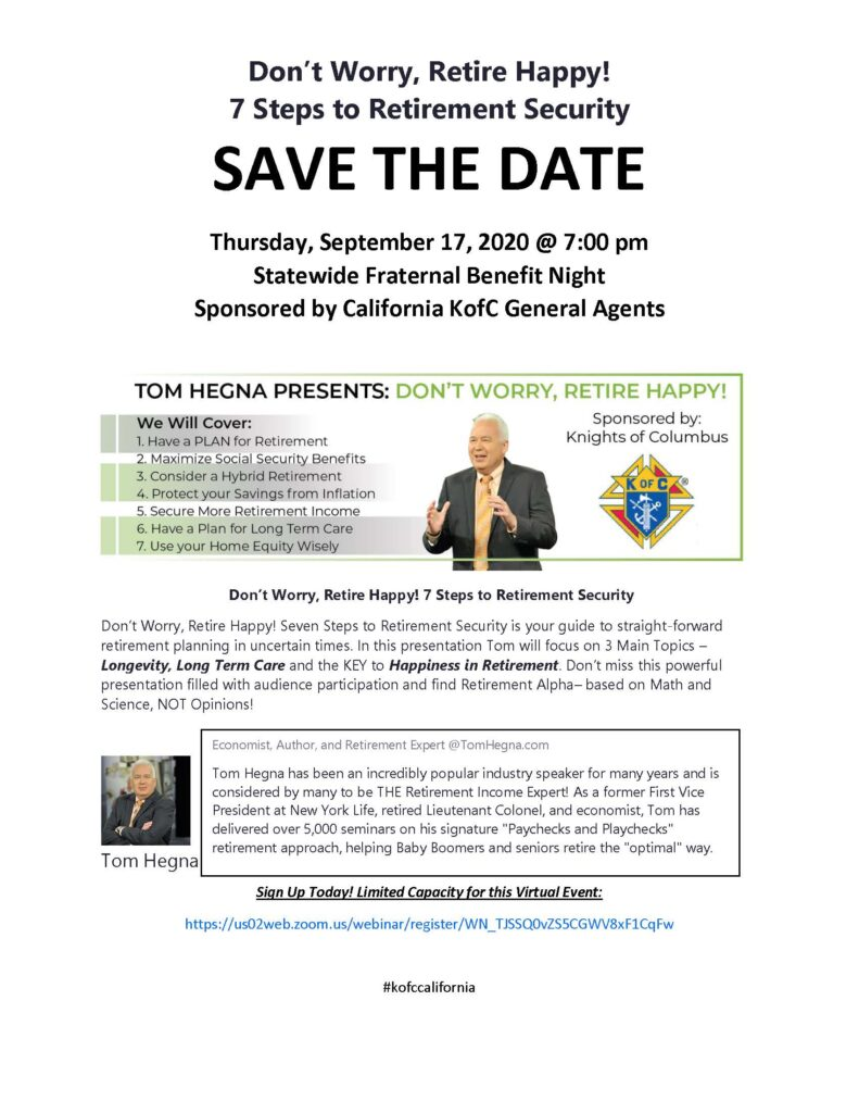 Save the Date-Sept. 17