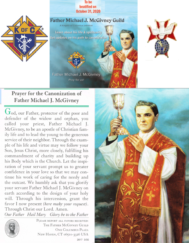 Fr. Michael J. McGivney Beatif
